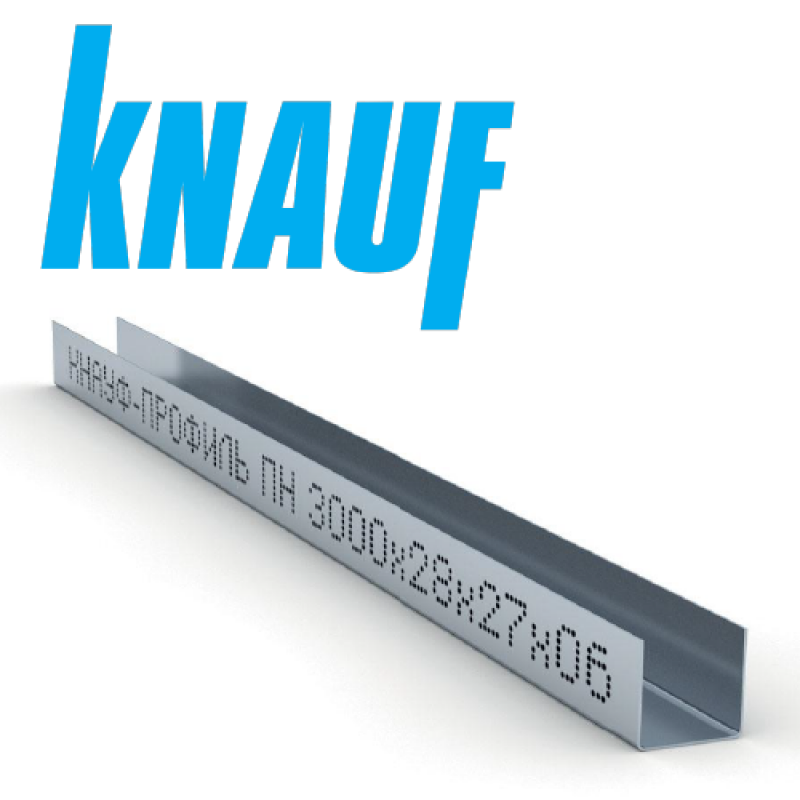 Профиль Knauf UD-27 3m (0,60мм)