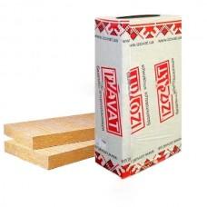 Минвата IZOVAT ФАСАД 135 базальтовый утеплитель толщина 100мм (100х600х1000мм)(1,2м2/уп.)(плотность 135кг/м3)