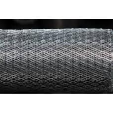 Сетка просечно-вытяжная штукатурная 17*40 оцинкованная (10м.кв)