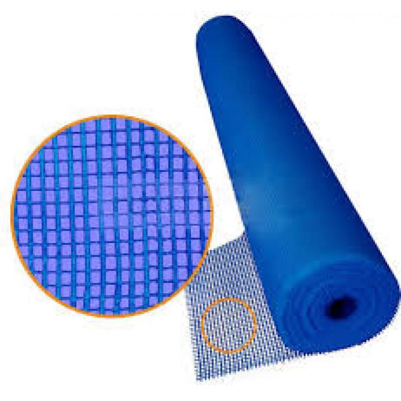 Сетка штукатурная Masternet ячейка 6*5мм щелочестойкая плотность145гр/м.кв.(1х50м) синяя