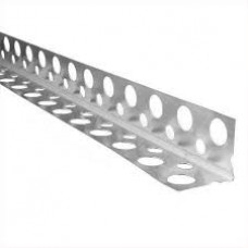 Уголок алюминиевый перфорированный 2,5 м (толщина 0,25 мм)