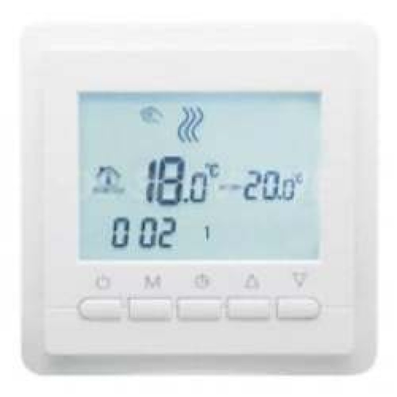Программируемый терморегулятор для теплого пола In-Term TC-40