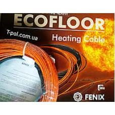 Двужильный нагревательный кабель в стяжку FENIX(17,1-14,7-12,2м2)(Чехия).