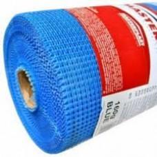 Сетка штукатурная Masternet ячейка 6*5мм щелочестойкая плотность160гр/м.кв.(1х50м) синяя