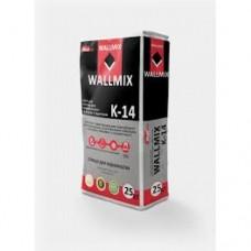 Клей для керамогранита и тёплых полов Wallmix K14 (25кг)