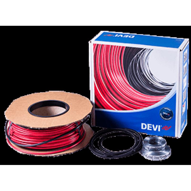 Нагревательный кабель под плитку DEVI Deviflex-10T(20м2)