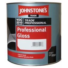 Глянцевая краска для внутренних и наружных работ Johnstone's Professional Gloss (5л)