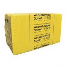 AcousticWool Sonet Профессиональная акустическая минеральная вата (1000*600*50мм-10листов), 6м2