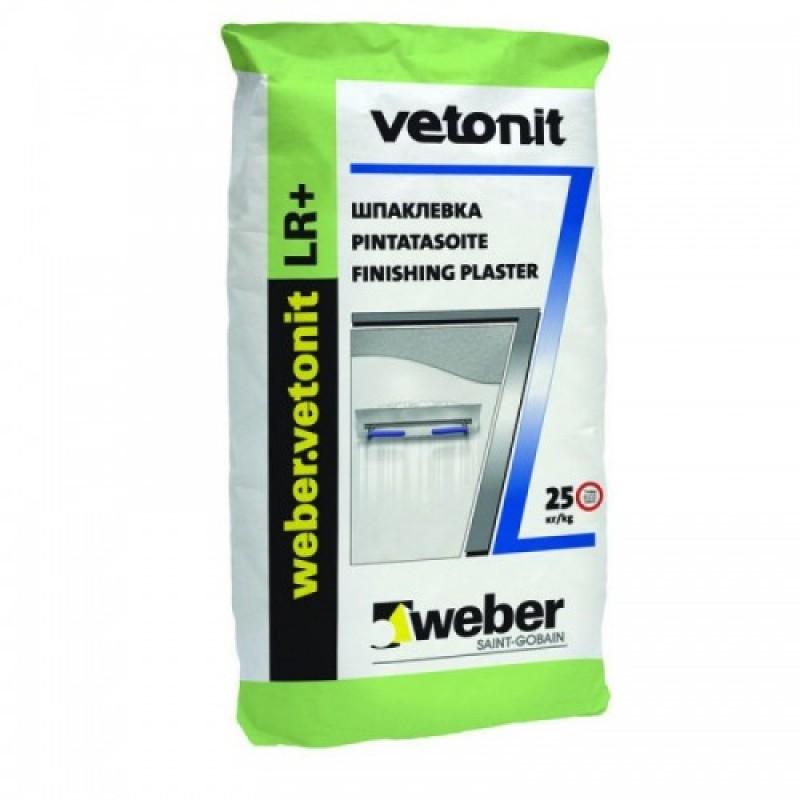 Шпаклевка Vetonit LR + финишная, мешок 20 кг